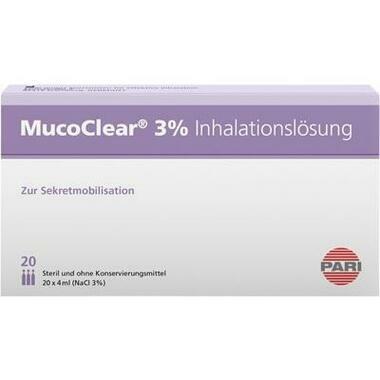 MucoClear 3% NaCl Inhalationslösung Amp.