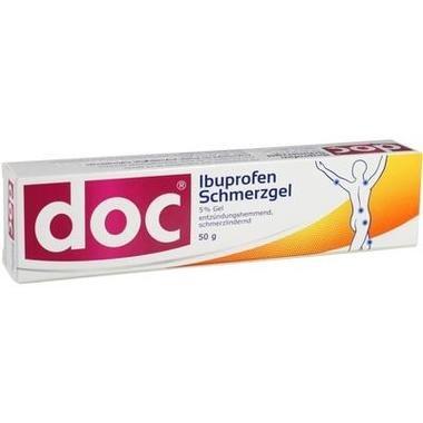doc Ibuprofen Schmerzgel 5 %, Gel