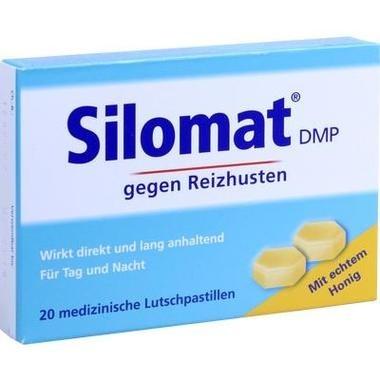 Silomat DMP gegen Reizhusten mit Honig Pastillen