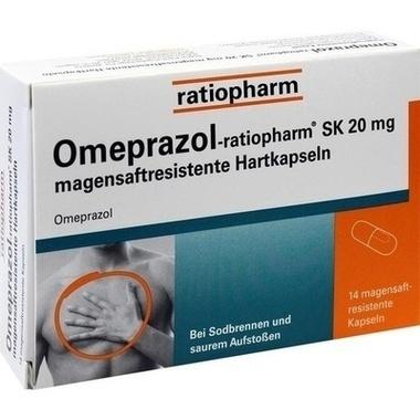 Omeprazol-ratiopharm® SK 20 mg magensaftresistente Hartkapseln