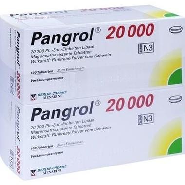 Pangrol® 20 000 magensaftresistente Tbl.