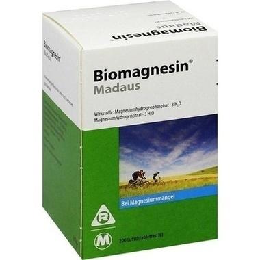 Biomagnesin® MADAUS, Lutschtbl.