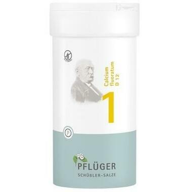 Biochemie Nr.1 Calcium fluoratum D12 Pflüger Tbl.