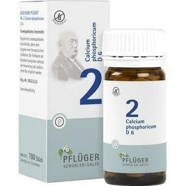 Biochemie Nr.2 Calcium phosphoricum D6 Pflüger Tbl.