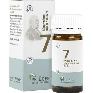 Biochemie Nr.7 Magnesium phosphoricum D6 Pflüger Tbl.