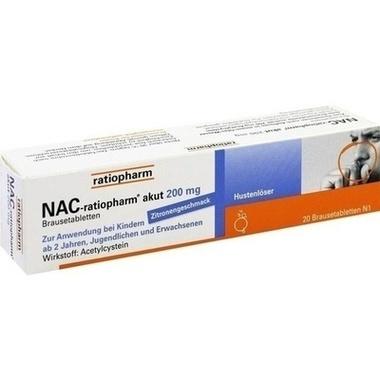 NAC-ratiopharm® akut 200 mg Hustenlöser, Brausetabletten