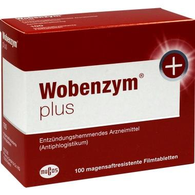 Wobenzym® plus magensaftres. Tbl.