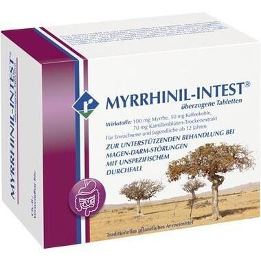 MYRRHINIL-INTEST® überzogene Tabletten