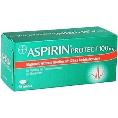Aspirin® protect 100mg, magensaftresistente Tbl.