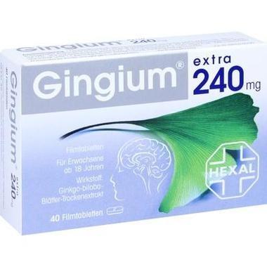 Gingium® extra 240 mg, Filmtbl.