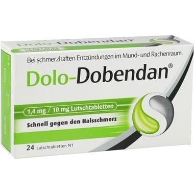 Dolo-Dobendan® 1,4 mg/10 mg, Lutschtabletten