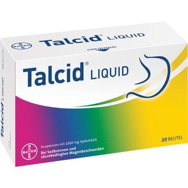 Talcid Liquid, Suspension zum Einnehmen mit 1000 mg Hydrotalcit