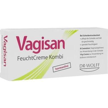 Vagisan® FeuchtCreme Kombi, Vaginalzäpfchen und Creme
