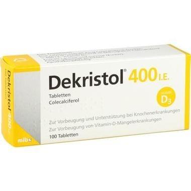 Dekristol® 400 I.E. Tabletten