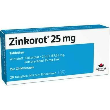 Zinkorot® 25 Tbl.