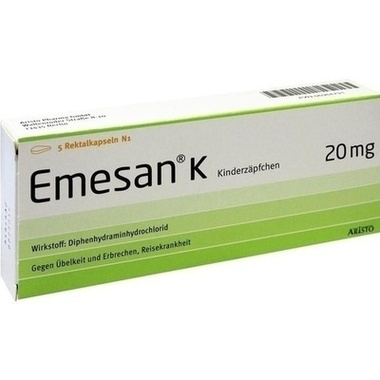 Emesan® K Kinderzäpfchen