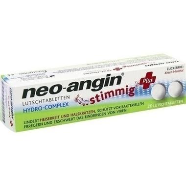 neo-angin® stimmig Plus, Lutschtabletten