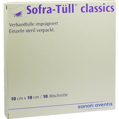 Sofra-Tüll classics Abschnitte 10x10cm