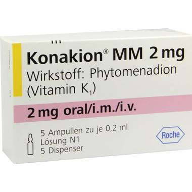 Konakion® MM 2 mg Lösung, Amp.