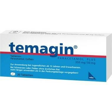 Temagin Paracetamol plus Tbl.