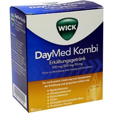 WICK DAYMED Kombi-Erkältungsgetränk