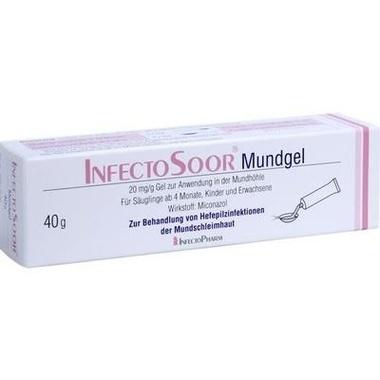 INFECTOSOOR® Mundgel, 20 mg/g Gel zur Anwendung in der Mundhöhle