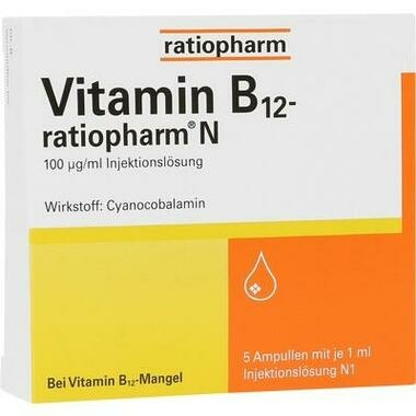 Vitamin B<sub>12</sub>-ratiopharm® N, Injektionslösung