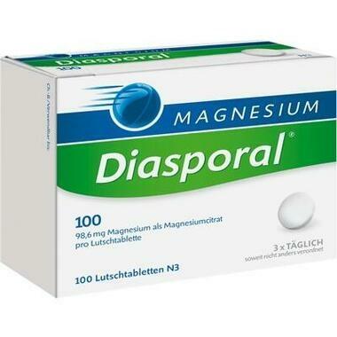 Magnesium-Diasporal® 100 Lutschtbl.