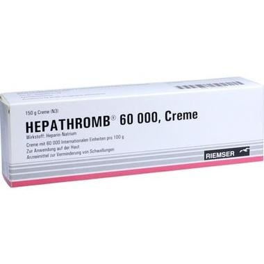 Hepathromb® 60000, Creme