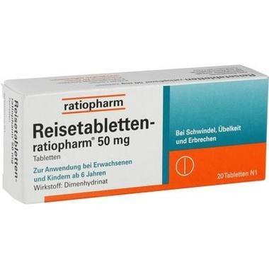 Reisetabletten-ratiopharm®