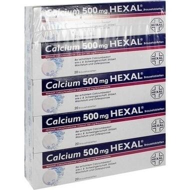 Calcium 500 mg HEXAL®, Brausetbl.