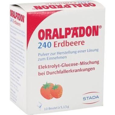 Oralpädon® 240 Erdbeere Pulv. z. Herstell. e. Lsg. z. Einn.