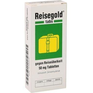 Reisegold® tabs gegen Reiseübelkeit