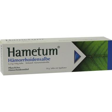 Hametum® Hämorrhoidensalbe