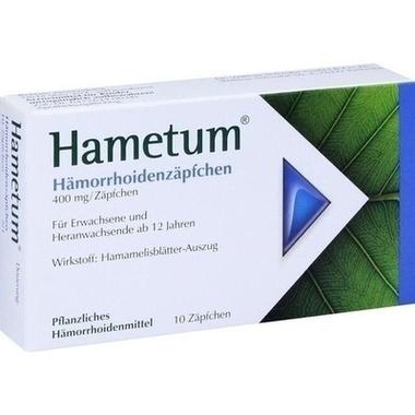 Hametum® Hämorrhoidenzäpfchen