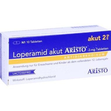 Loperamid akut Aristo® 2 mg Tabletten