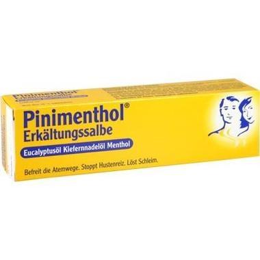 Pinimenthol® Erkältungssalbe Eucalyptusöl Kiefernnadelöl Menthol