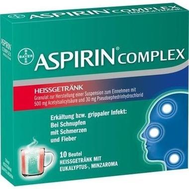 Aspirin Complex Heissgetränk, 500 mg/30 mg Granulat