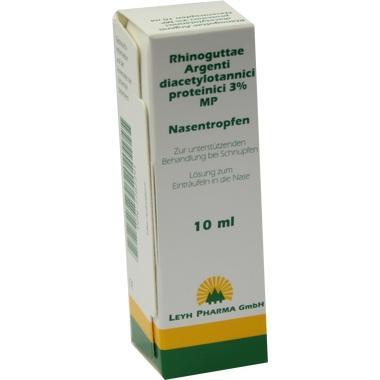 Rhinoguttae Argent.Diacet.prot.3% MP Nasentropf.