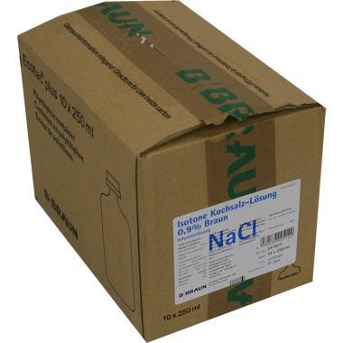 Isotone Kochsalzlösung 0,9% Braun Ecoflac® Plus 250ml
