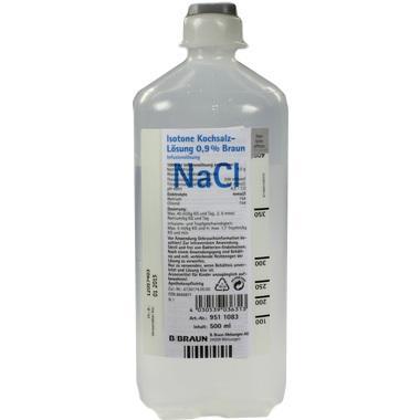 Isotone Kochsalzlösung 0,9% Braun Ecoflac® Plus 500ml