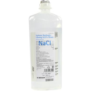 Isotone Kochsalzlösung 0,9% Braun Ecoflac® Plus 1000ml