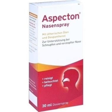 Aspecton® Nasenspray, Schnupfenspray mit Meersalzlösung zum Einsprühen in die Nase