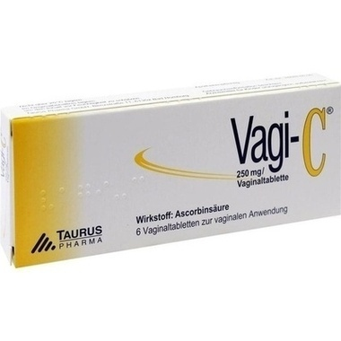 Vagi-C®, 250 mg / Vaginaltabletten