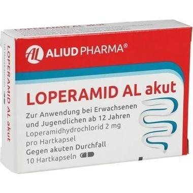 Loperamid AL akut 2 mg Hartkapsel