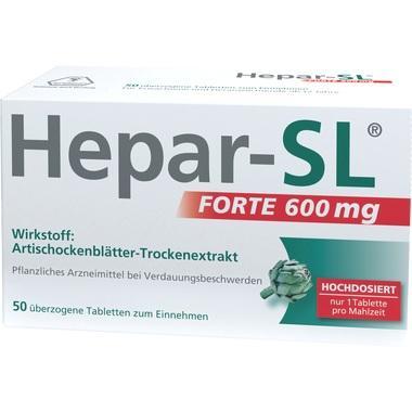 Hepar-SL® forte 600 mg, überzogene Tabletten