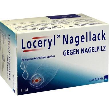 Loceryl Nagellack gegen Nagelpilz, 50 mg/ml wirkstoffhaltiger Nagellack