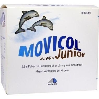 MOVICOL® Junior Schoko 6,9 g Pulv. zur Herstell. einer Lösung zum Einnehmen