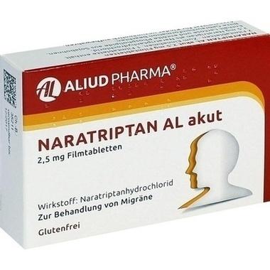 Naratriptan AL akut 2,5 mg Filmtbl.