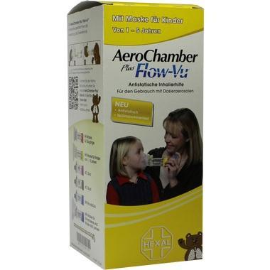 AeroChamber HEXAL mit Maske für Kinder